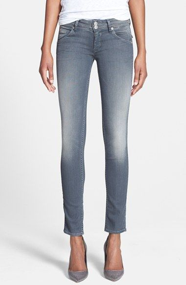 Hudson Jeans 'Collin' Skinny Jeans (Wreckless) available at #Nordstrom