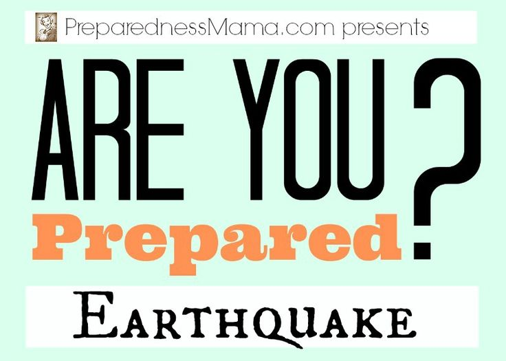 117 best images about earthquake preparedness on pinterest for Best place to be in an earthquake