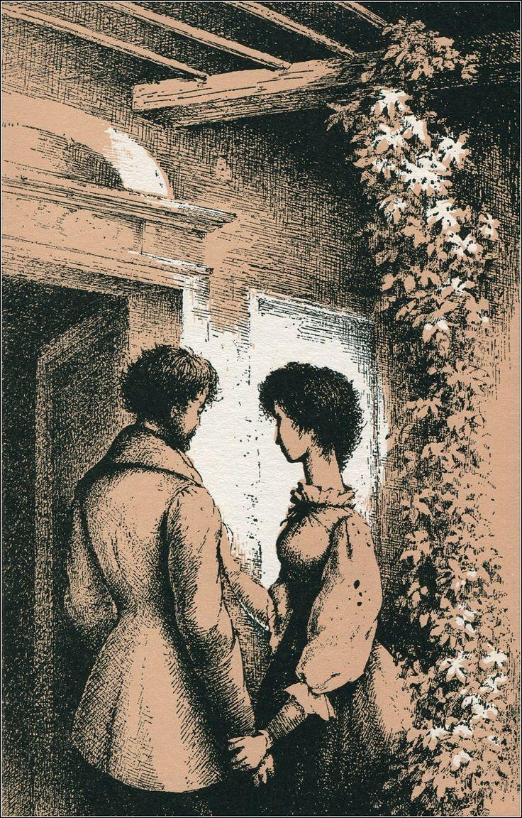 Illustration Ludmila Jiřincová . Turgeněv:Asja