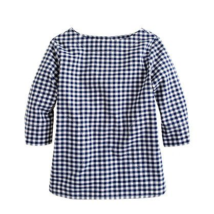Crewcuts gingham shirt.
