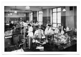 Valio laboratory in the 1920's, a part of the hotel nowadays.
