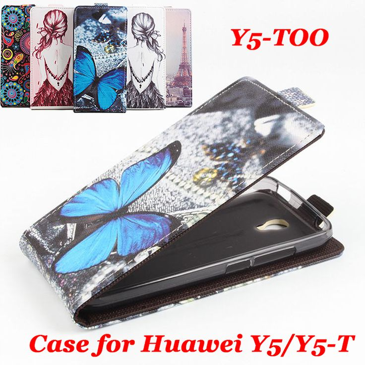 100% High Quality Leather Case For Huawei Y5 Y5-T Flip Cover Case housing For Huawei Y5-TOO Leather Cover Mobile Phone Cases