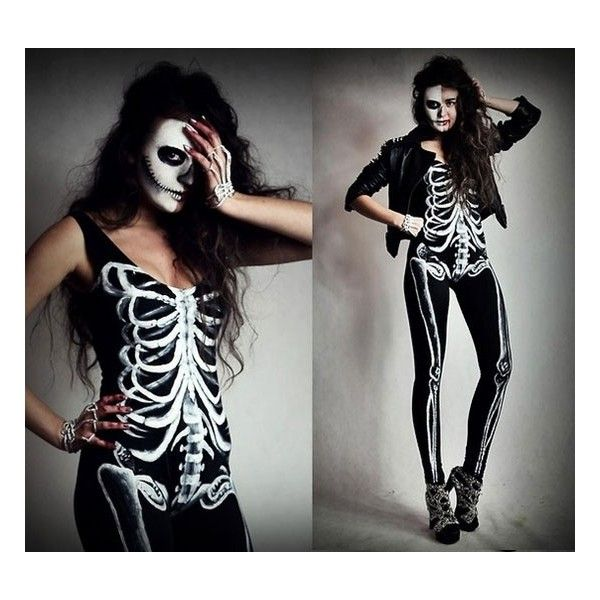These Sanskari Women Dressed Up For Halloween Will Scare: 17 Best Ideas About Skeleton Costumes On Pinterest
