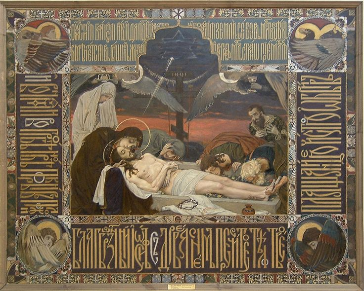 Shroud of Christ Victor Vasnetsov