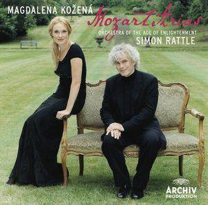 MOZART Arias - Kozená / Rattle - Deutsche Grammophon