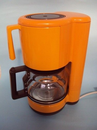Yellow Filter Coffee Maker : AEG Filter Coffee Machine The 70 s Were Orange Pinterest
