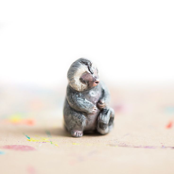 Le Comforting Pygmy Marmoset Totem - Muses Collection