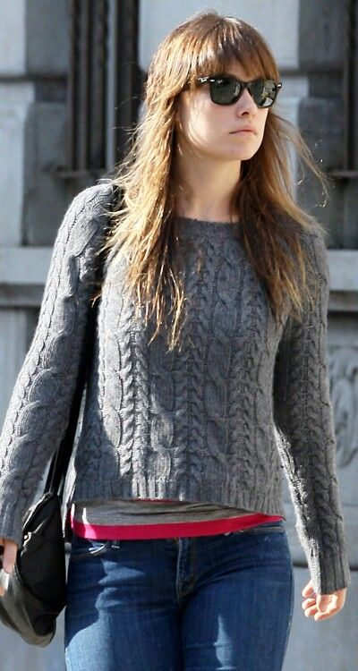 Pin By Lilia Fuentes On Street Style - Olivia Wilde -9785
