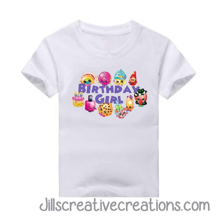 Birthday Girl T-Shirt We recommend ordering the current size you wear. TODDLER SIZE CHART YOUTH SIZE CHART ADULT SIZE CHART