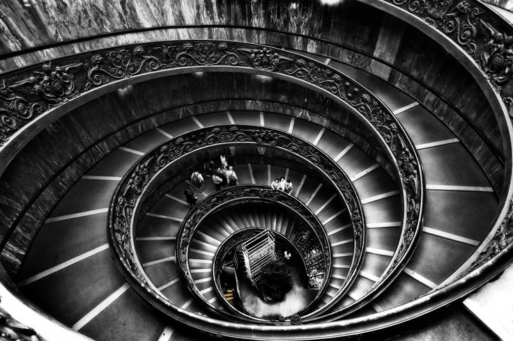 Vatican Stairs... by Tania Koleska on 500px