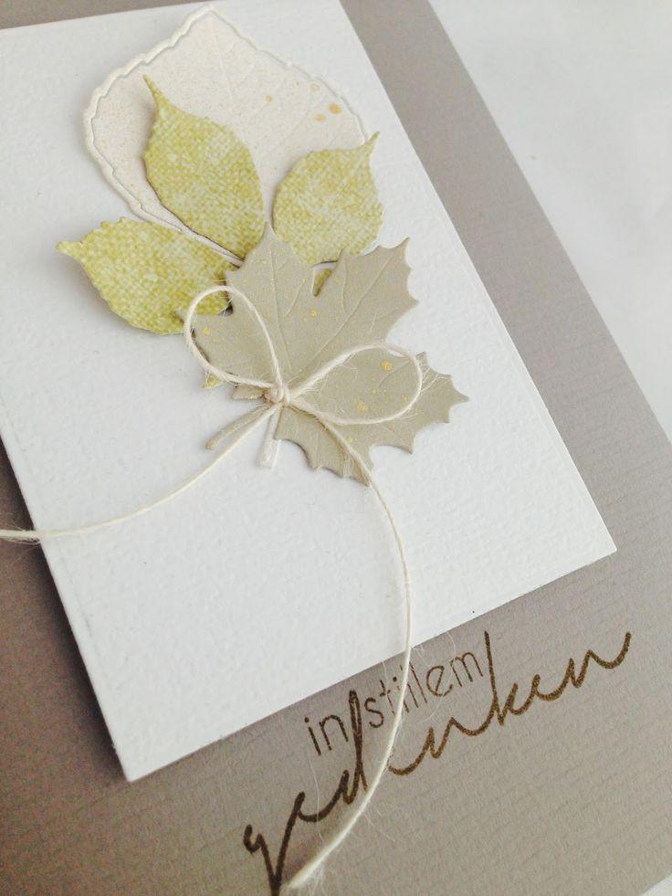 Love Cards & Papers by Alexa: In stillem Gedenken