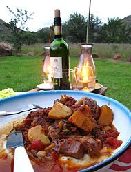 Namibian Quince and Ginger Stew