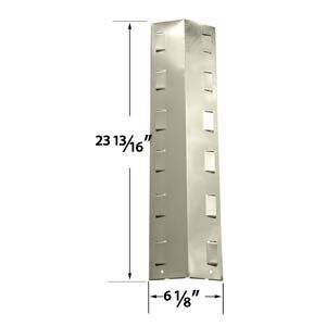 Stainless Heat Shield For BBQ Grillware GPF2414, GPF2414C, GPF2414NS Gas Models