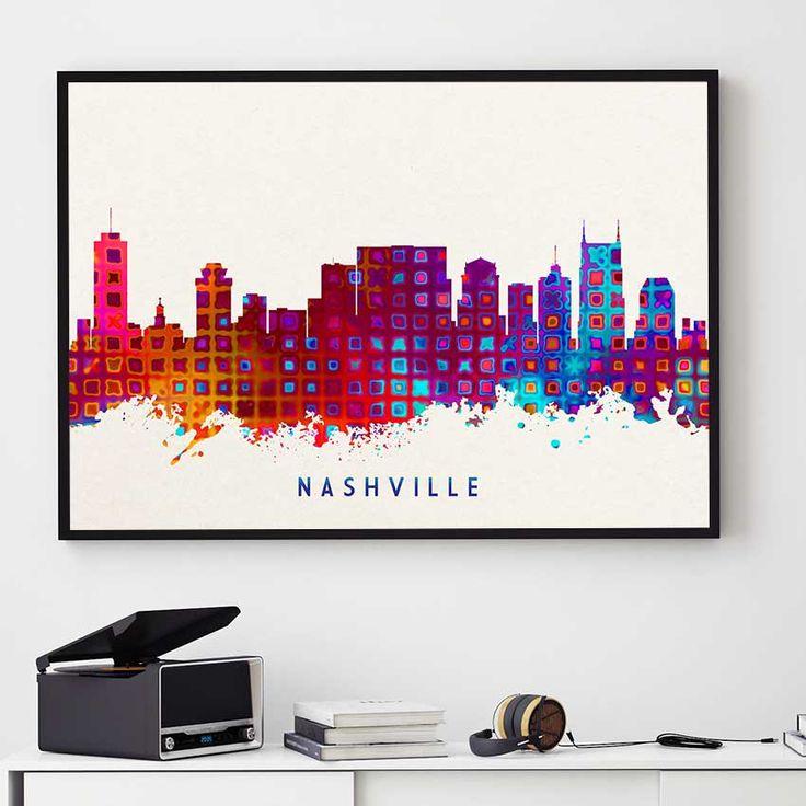 Best 25+ Nashville Skyline Ideas Only On Pinterest