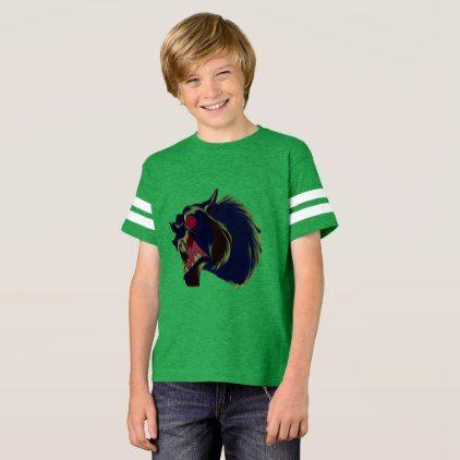 The Great Animal - Kids Football Shirt - kids kid child gift idea diy personalize design