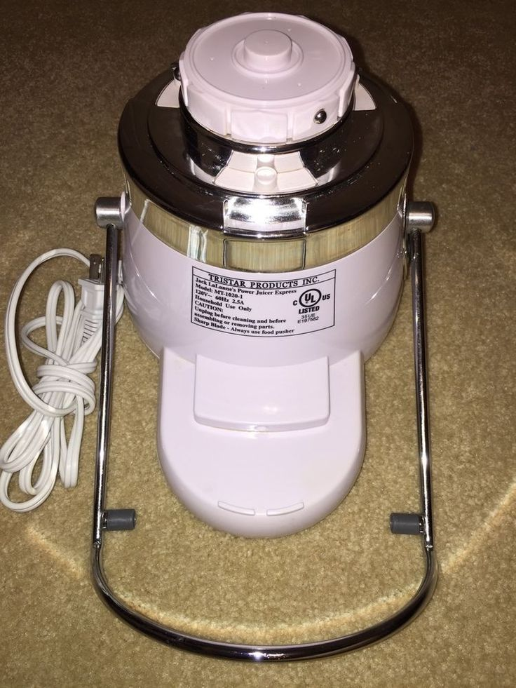 Replacement Part Jack Lalanne's Power Juicer Express Model MT-1020-1 Motor  | eBay