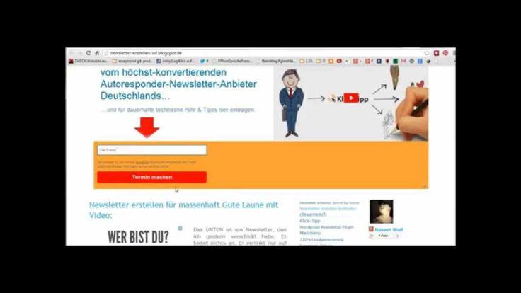 Ressourcen aus dem Video (klick diesen fetten Link): http://newsletter-erstellen-xxl.blogspot.de/2014/04/newsletter-formular-oben-header-blogger.html Newsletter Formular einbinden in Header von Blog