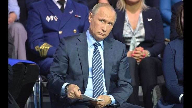 Vladimir Putin At Russian Popular Front Action Forum