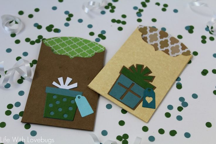 Sizzix Inspiration  Birthday Gift Card Envelope by Monika Baptista