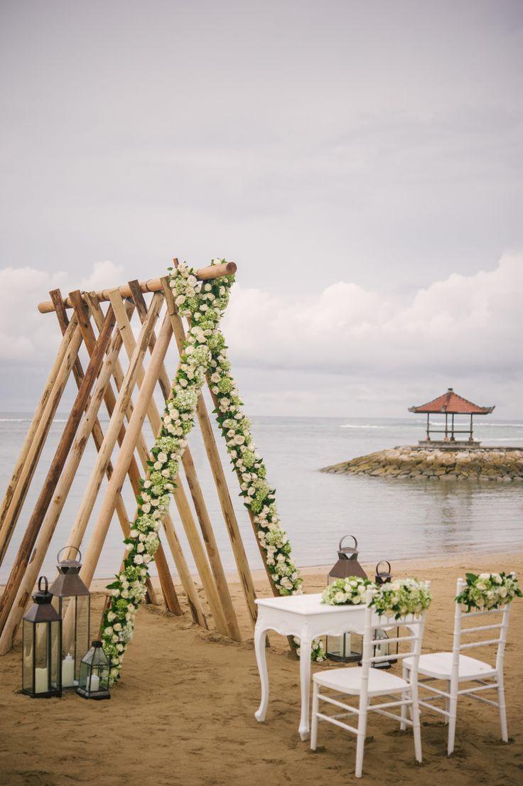 Stunning Beach Wedding at Sadara Beach Resort Bali