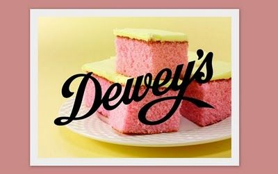 Dewey's Bakery Pink Lemonade Cake (aka slice of heaven). Recipe is close to the secret original