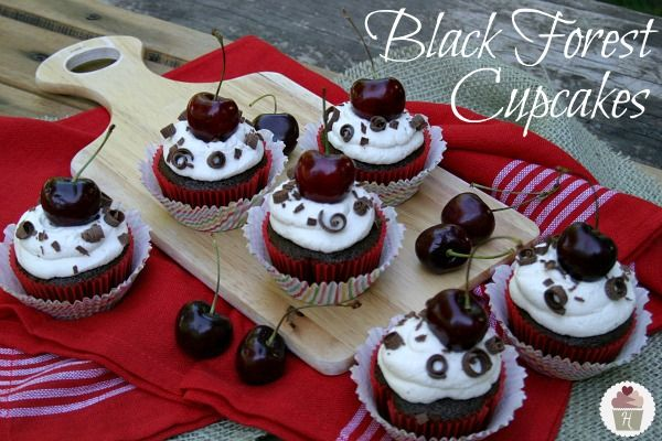 Black Forest Cupcakes Recipe!