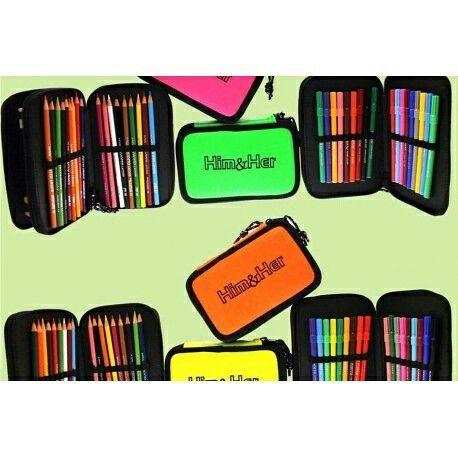 #scuola #astuccio #colori www.lepetitatelierdusoleil.it