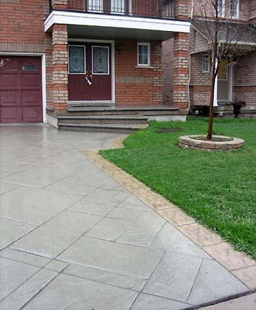 patterned concrete driveways leeds