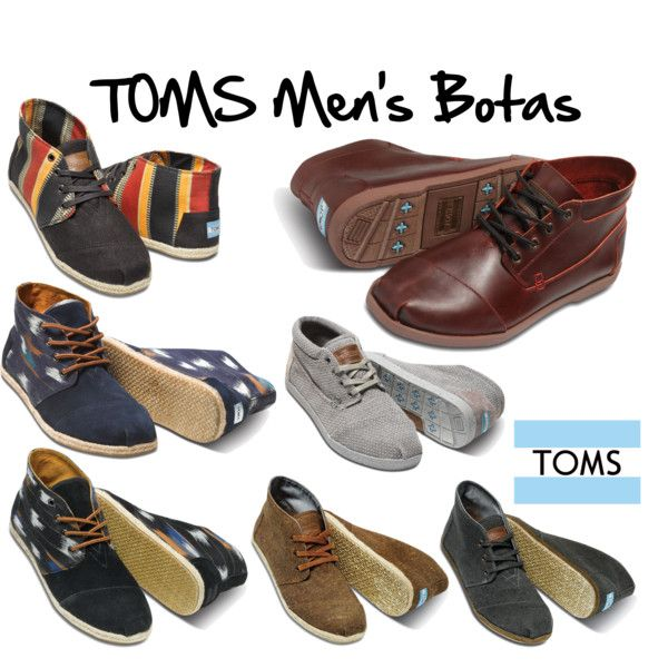 """TOMS Men's Botas"" by cololinks on Polyvore"