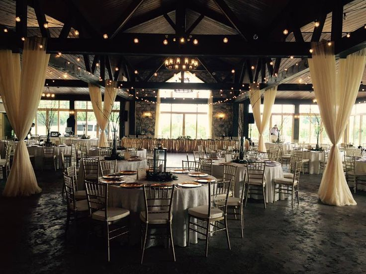 this soft and romantic wedding room is everything.. decorated by Anything and Everything, venue is Sprucewood Shores Estate Winery