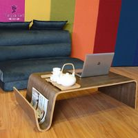 Mid Century Design Modern Coffee Table For Breakfast, Magazine Living Room Furniture Side Bentwood End Tea Bed Table For Laptop