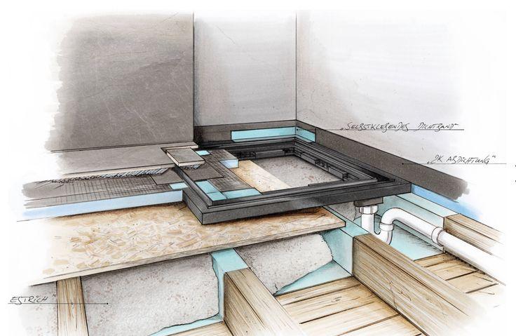 die besten 25 dusche einbauen ideen auf pinterest begehbare dusche wandnischen und duschglaswand. Black Bedroom Furniture Sets. Home Design Ideas