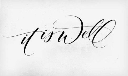 This would be a pretty tattoo. Pretty font!