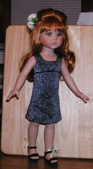 $9 - 1 left - short black sparkly dress