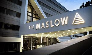 The Maslow, Sandton. The venue for The Allos Summit 2013