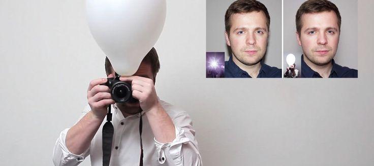 Zvláštny trik s balónom, vďaka ktorému budú vaše fotky ako od profesionála. Skúste to ešte dnes!