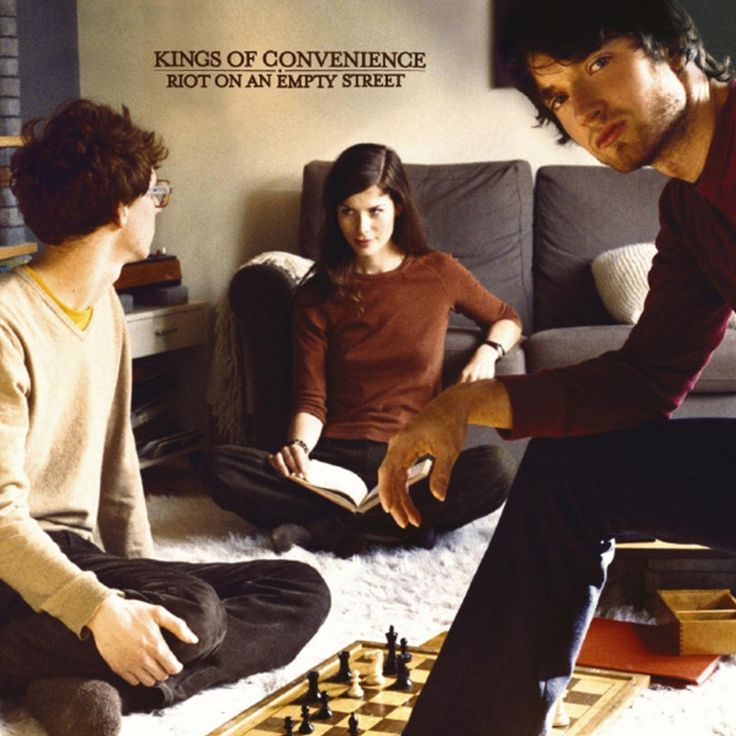 Kings Of Convenience - Riot On An Empty Street on Limited Edition LP (Awaiting Repress)