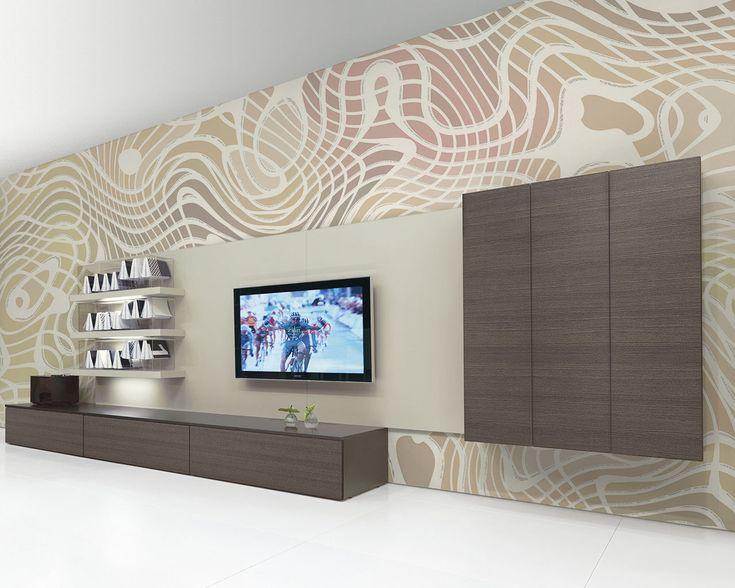 UniqueWall: Earthwoo - customizable artwork wallpaper | Ch'Art Design