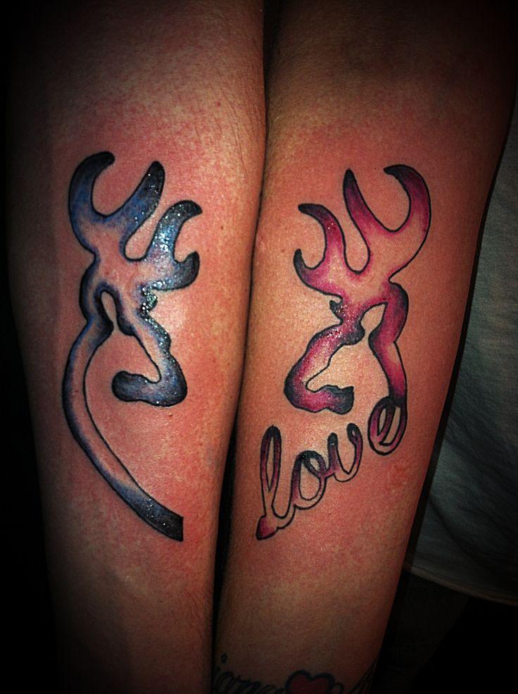 Browning Couple Tattoos Browning tatto  #bodas #tatoos #amor #love #plenamare #alianzas