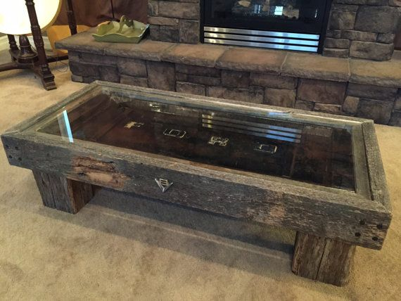 Vintage Ford tailgate coffee table by RustyCustoms on Etsy