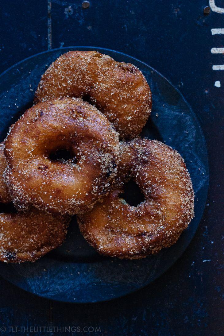 Apple beignets with cinnamon cardamom sugar | Beignets ...