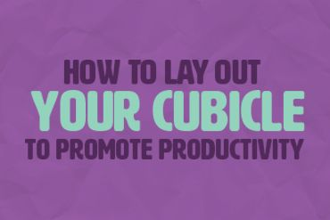 Click to see how you can design your cubicle to promote productivity!