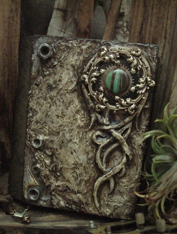 Fallen Angel Handmade Book by AlteredAlchemy on Etsy