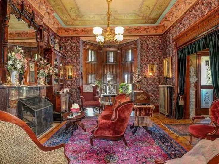 3348 best historic home interiors images on pinterest for Old home interior pictures for sale
