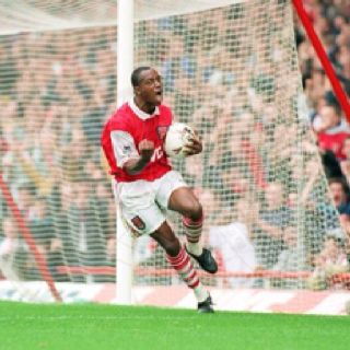 The best _ Ian Wright scores 100 for The Arsenal :-)