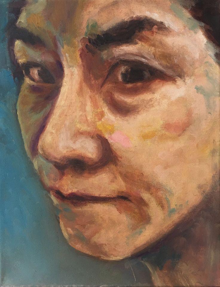 P #8-1. 11x14. Oil on Canvas. 2017