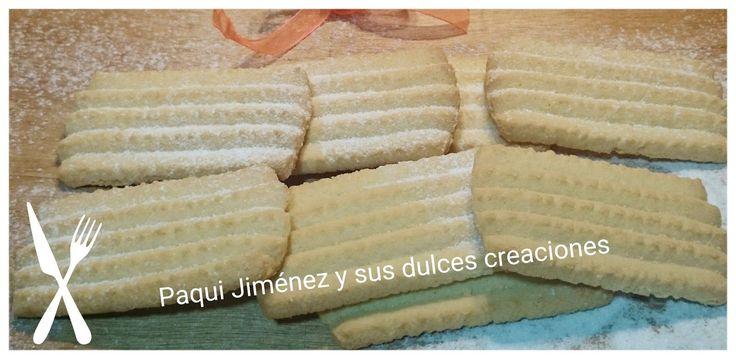 Galletas rizadas extremeñas Galletas típicas de Extremadura, se hacen de sabor limón, de vainilla o de anís. Hoy os dejo la receta...