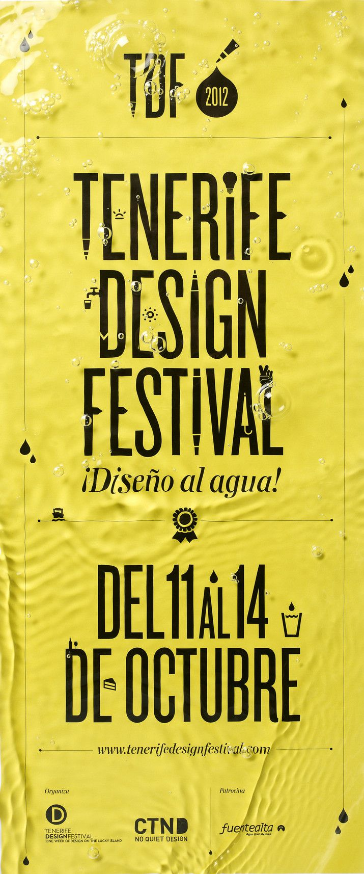 Tenerife Design Festival poster by Lo Siento..