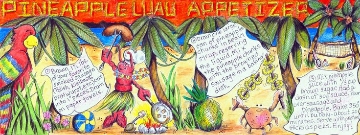 Luau - Illustrated Recipe