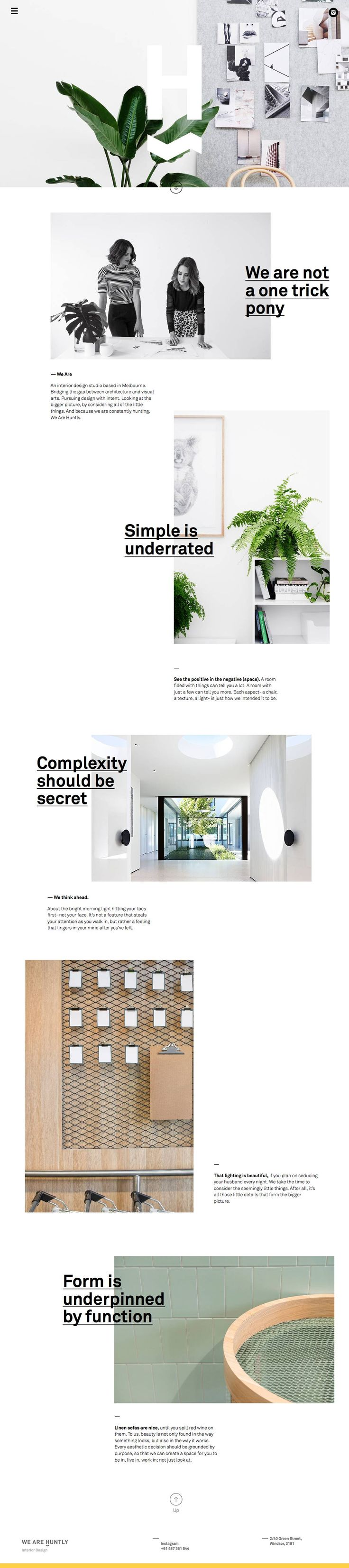 best 25 ios design ideas only on pinterest user interface huntly minimal creative design website leave lots of white space
